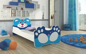 Detská posteľ 160x80 cm Macko - Bez zásuvky