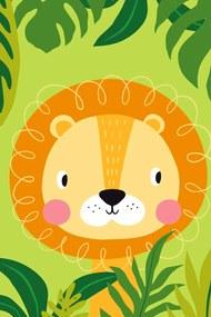 Detský uterák Lev viacfarebná