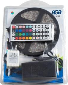 Aga LED pásik RGB 5 m + ovládač + zdroj