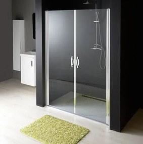 GELCO - ONE sprchové dvere dvojkrídlové do niky 1080-1120 mm, číre sklo 6 mm (GO2811)