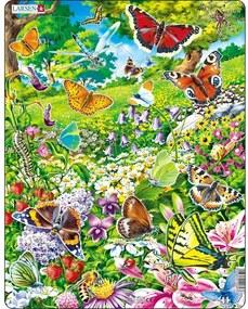 Larsen Puzzle Motýle, 42 dielikov