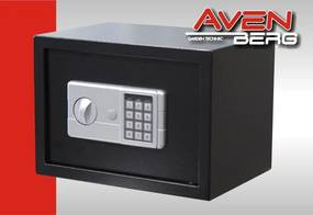 Elektronický bezpečnostný trezor AVENBERG 25EK - 250x350x250