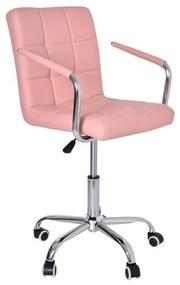 TZB Kancelárska stolička Ritmo ružová