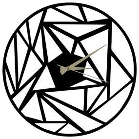 Kovové hodiny Peony, 60 × 50 cm
