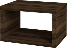 Dřevojas - Koupelnová skříň STORM SZO 60 - D06 Ořech (72578)