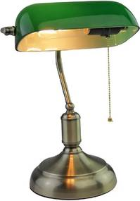 Banker's lamp Green