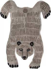 Koberec Bear, svetlý / luxusná vlna, Rozmery  90x120 cm Mum's