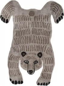 Koberec Bear, svetlý / luxusná vlna, Rozmery  200x300 cm Mum's