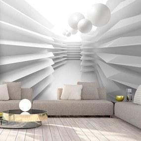 Fototapeta - White Maze 400x280