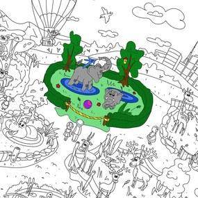 Maľovanky Creative Gifts Zoologická záhrada