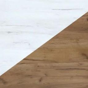 WIP Jednolôžková posteľ KITTY 04 / s roštom Farba: craft zlatý / craft biely