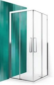 ROLTECHNIK Sprchové dvere posuvné ECS2L/900 brillant/transparent 560-900000L-00-02