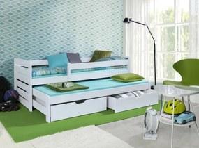 Detská posteľ Ourbaby Praktik biela 180x80 cm