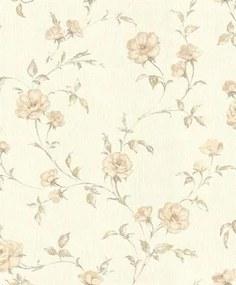 Vliesové tapety, kvety ruží béžové, Allure 429013, IMPOL TRADE, rozmer 10,05 m x 0,53 m