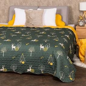 4Home Prehoz na posteľ Forest Dream, 220 x 240 cm