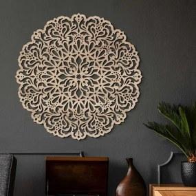 Drevená mandala na stenu - Vášeň
