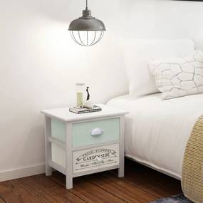 vidaXL Nočný stolík vo francúzskom štýle, drevený