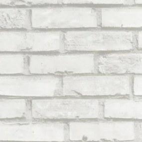Samolepiace fólie tehla biela, rozmer 45 cm x 15 m, GEKKOFIX 12207