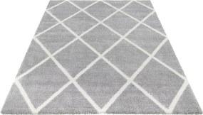 ELLE Decor koberce Kusový koberec Maniac 103650 Silver Grey/Cream z kolekce Elle - 80x150 cm