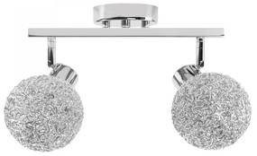 TooLight Stropní svítidlo Glamour Ball Double chrom