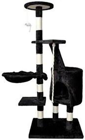 ISO Mačacie škrabadlo 118 cm, čierna, 7936