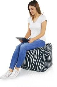Taburetka Cubo Zebra