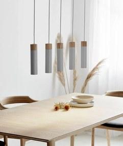 TILO V | minimalistické závesne svietidlo Farba: Šedá