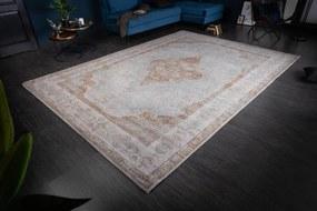 Dizajnový koberec Rex 350 x 240 cm béžový