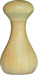 Malý mlynček na korenie z dubového dreva Wireworks Grinder