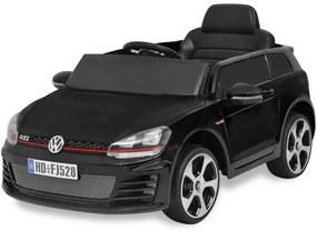 detské autíčko VW Golf GTI 7 čierne 12 V s diaľkovým ovládačom