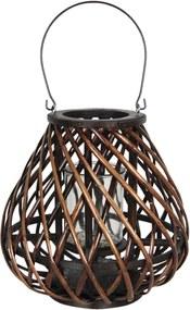 Prútená lampáš Eudo - 31 * 30 cm