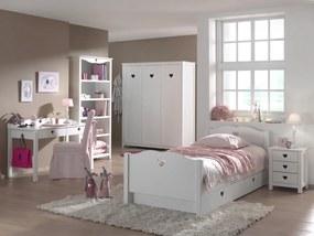 Detská izba pre dievča Amori - II - Písací stôl: 130x84,5x60 cm