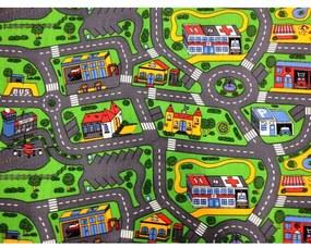 Detský koberec MESTO 140 x 200 cm