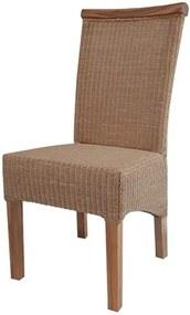 Sconto Jedálenská stolička PERTH LOOM prírodná/loom