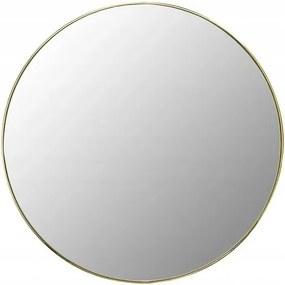 Tutumi Kulaté nástěnné zrcadlo 50 cm / zlaté MR20E
