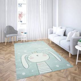 Koberec BOBOO Foam Bunny - 120x160 cm