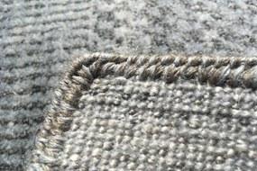 Diamond Carpets koberce Ručně vázaný kusový koberec Diamond DC-MCN Silver/m.red - 180x275 cm
