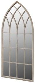vidaXL Gotické záhradné zrkadlo 50x115 cm, do interiéru a exteriéru