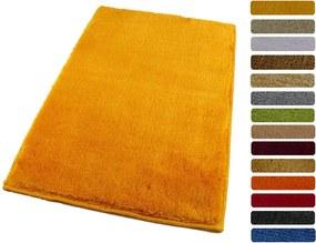 ROUTNER Kúpeľňová predložka UNI COLOR Žltá 10114 - Žltá / 50 x 80 cm 10114