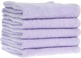 Detský uterák bavlnený 30x50 svetlo fialový EMI