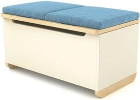 Timoore Toy box Simple T01-23-C-B - C01-23-B + modrý potah