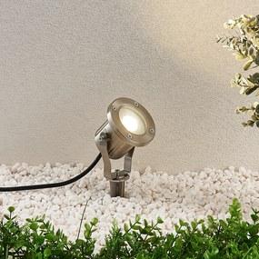 Vonkajšie LED svietidlo Mathis hrot do zeme oceľ