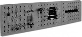 Panel na náradie TG-SC3 sivá