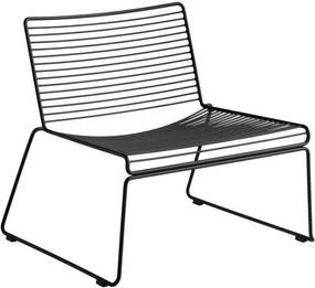 HAY Kreslo Hee Lounge Chair, black