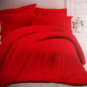 Kvalitex Bavlnené obliečky červená