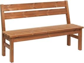 Záhradná lavica drevená PROWOOD – Lavica LV1 145