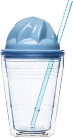 Pohár SAGAFORM Sweet Milkshake, modrý 5017185