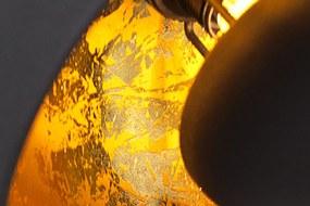 Bighome - Závesné svietidlo STADIO 3 - čierna