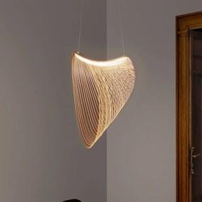 Luceplan Illan LED drevená závesná lampa, Ø 60 cm