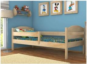 MAXMAX Detská posteľ z masívu 180x80cm bez šuplíku - DP017 180x80 NIE